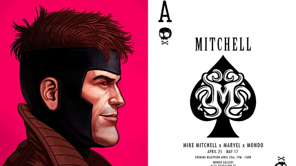 Marvel heroes Y Mike Mitchell