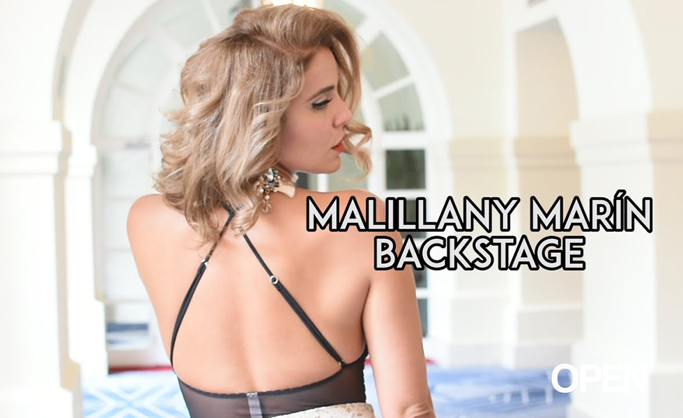 Malillany Marín – Espectacular Backstage (FOTOS+VIDEO)