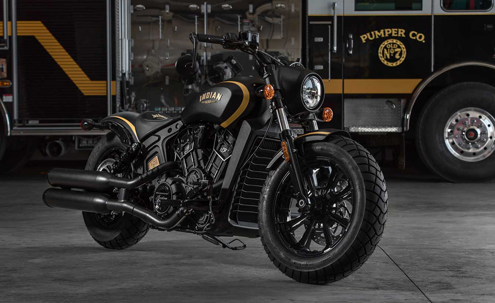 Indian Motorcycle y Jack Daniel ́s se lucieron…