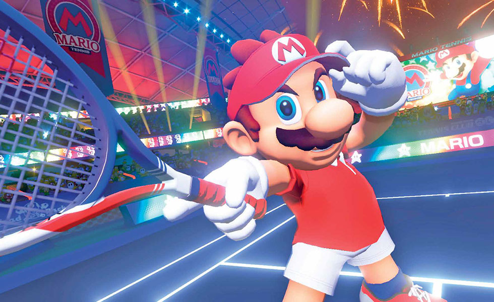 Mario Tennis Aces – Match Point!
