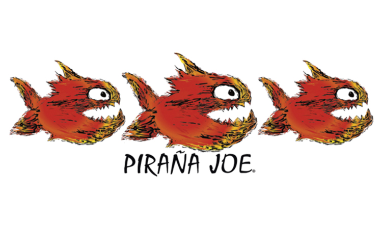 logotipo piraña joe Glatt