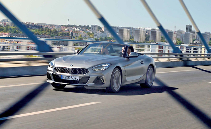 El potente BMW Z4 Roadster
