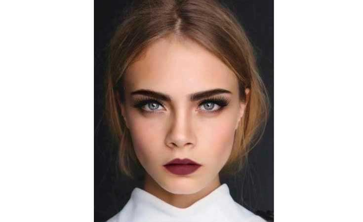 Cara Delevigne Make up