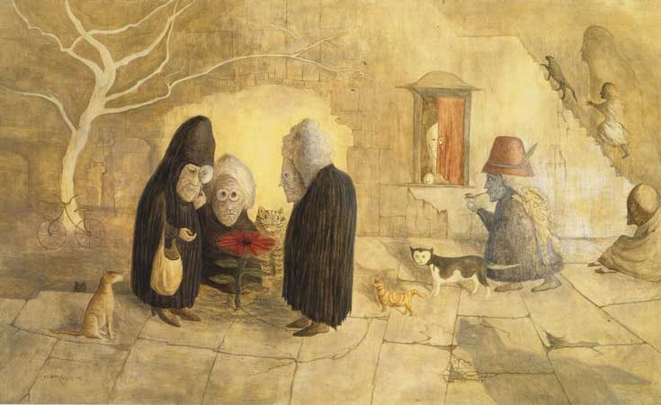 """Flor de Kron"" Leonora Carrington 1987"