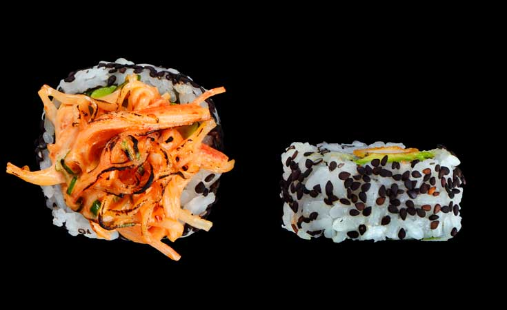 Volcano roll de urban Spices