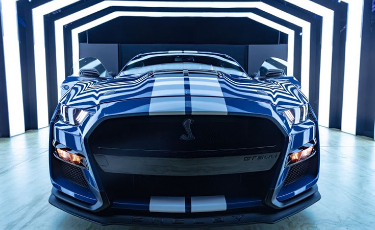 Parrilla Shelby GT500