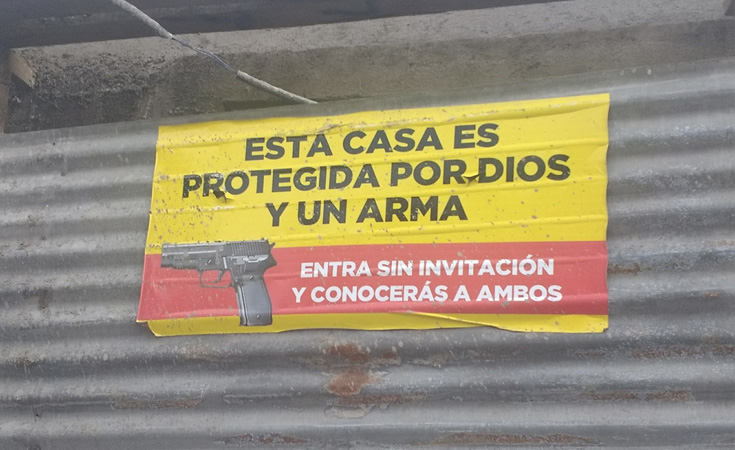 portación de armas legal