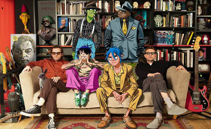 Gorillaz regresa a los escenarios con SONG MACHINE LIVE