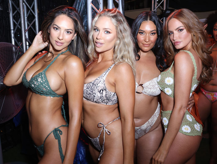 2021 Sports Illustrated Swimsuit Runway Show – Paraiso Miami Beach –  Front Row/Backstage